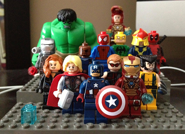 Lego Marvel Toys : Figure lego marvel superheroes panels on pages