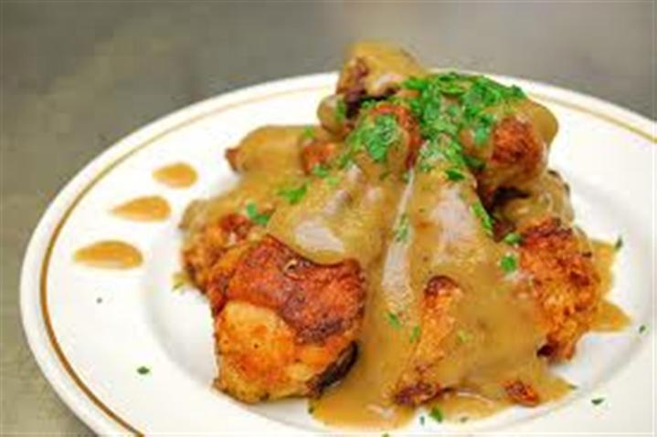 FRIED CHICKEN WITH GRAVY Recipe