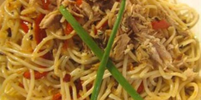 Healthy Tinapa Pasta Recipe