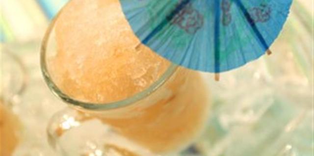 Almond Lychee Granita Recipe