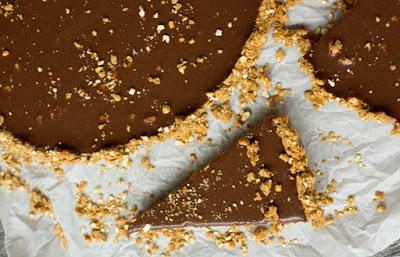 Milk Chocolate Tart with Peanut Butter Pretzel Crust Recipe