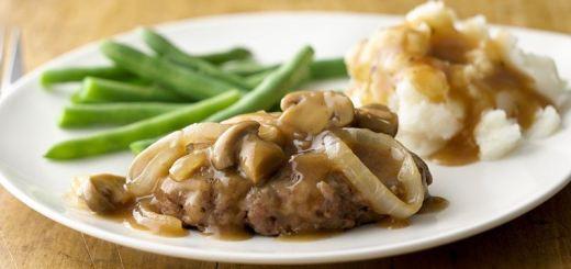 Salisbury Steak with Mushroom Sauce – Recipe