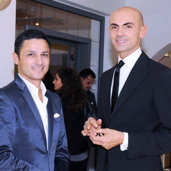 Gino Signore con Enzo Miccio