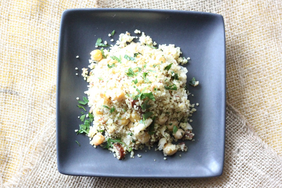 sweet and savory couscous