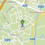 Mappa via Binaschi a Binasco