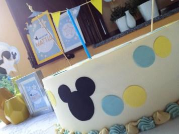 Paola Maresca Allestimento battesimo Mickey Mouse