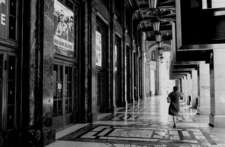 Porticato di Via Santa Redegonda Milano