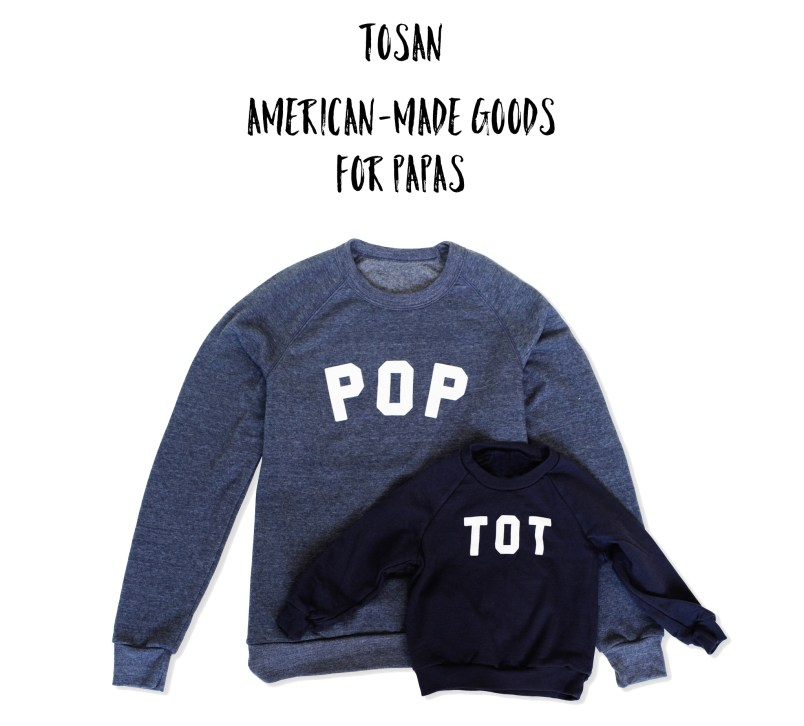 American-Made Goods For Papas From Tosan