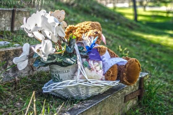 cesta bebés regalos recien nacidos originales