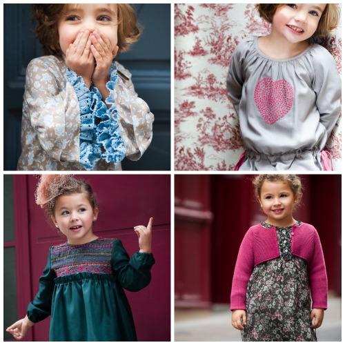 Moda infantil colección Otoño-Invierno 2014-15