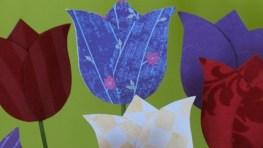 Tulipanes de papel para el Día de la Madre