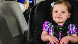 Nueva silla de coche para bebés con un sensor para evitar las muertes por un golpe de calor
