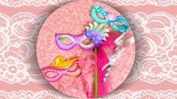 Máscaras de Princesas de Disney para Carnaval