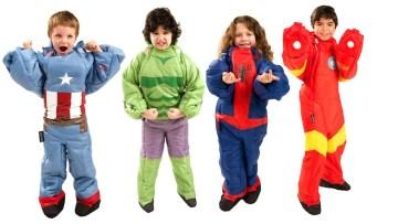Sacos de dormir para niños de superhéroes