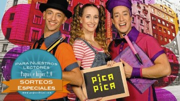 Sorteamos DVD y entradas para disfrutar de English Pitinglish de Los Pica Pica