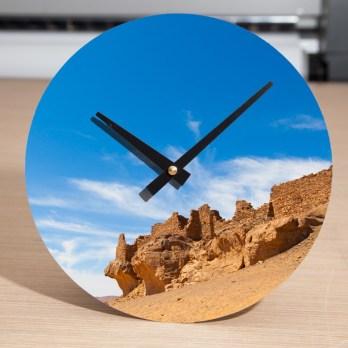 Reloj impreso.