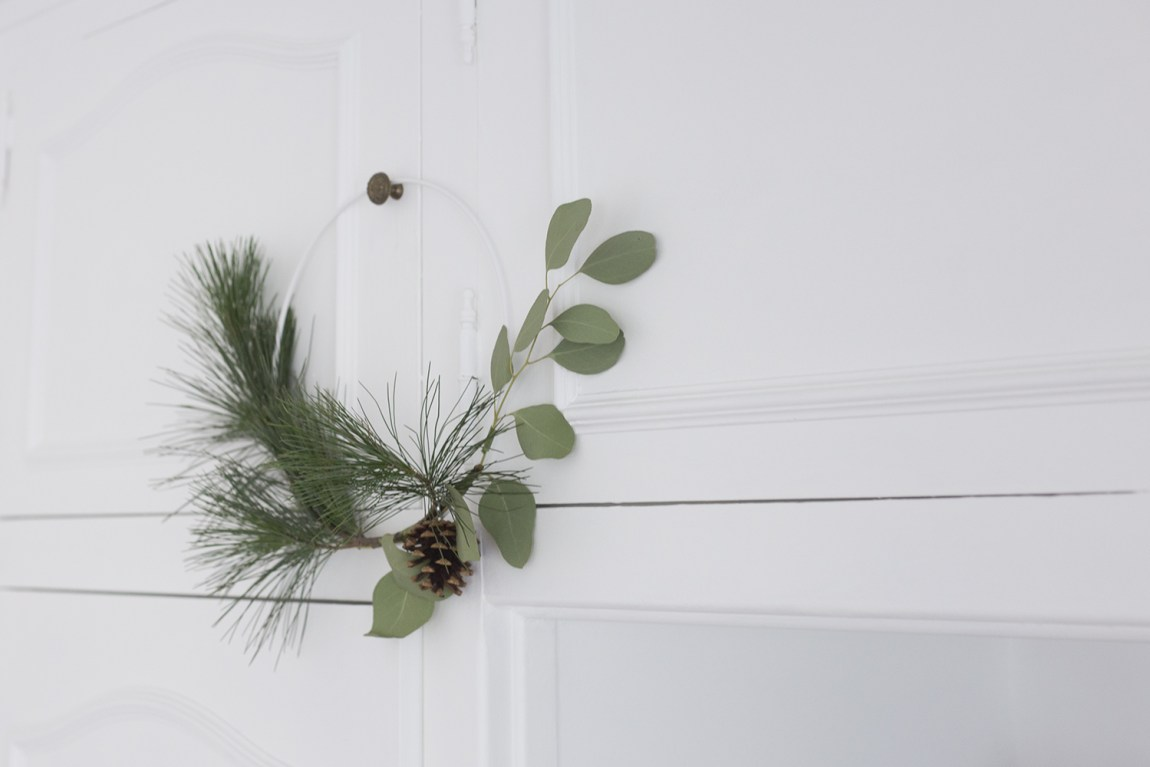 DIY Couronne feuillage - www.paperboat.fr
