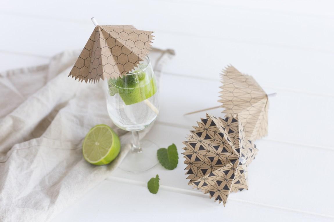 DIY ombrelle à cocktail - www.paperboat.fr