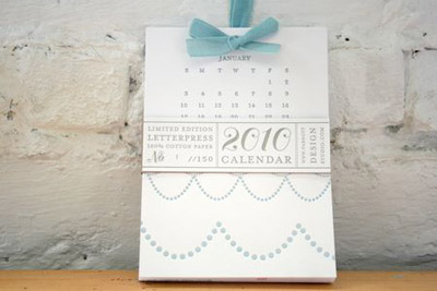 Parrott Design Studio 2010 Calendar