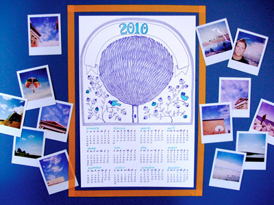 Sycamore Street Letterpress 2010 Calendar