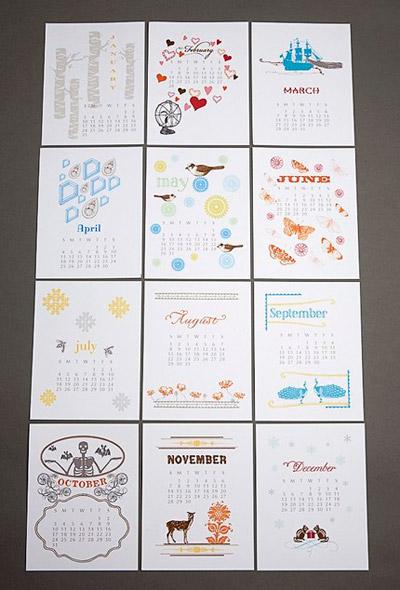Pearl & Marmalade 2010 Calendar