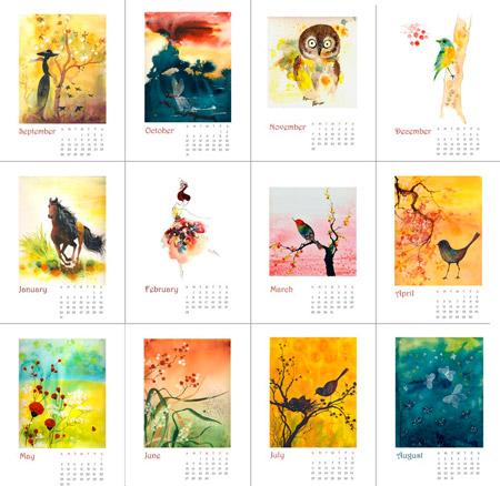 Ola Design 2010 Calendar