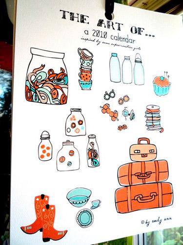 Emily Ann Designs Calendar