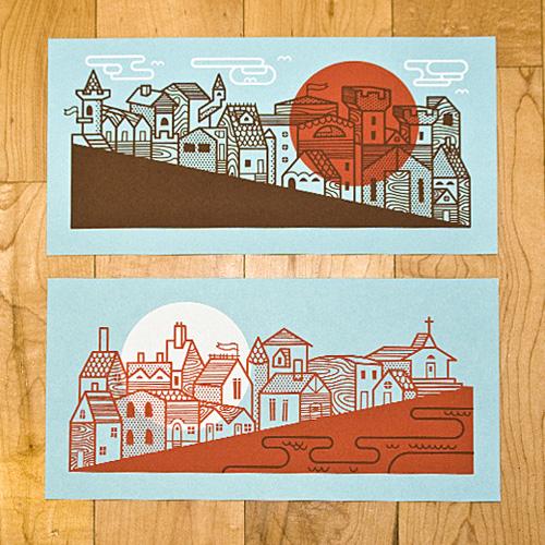 Medieval City Set Bandito Design