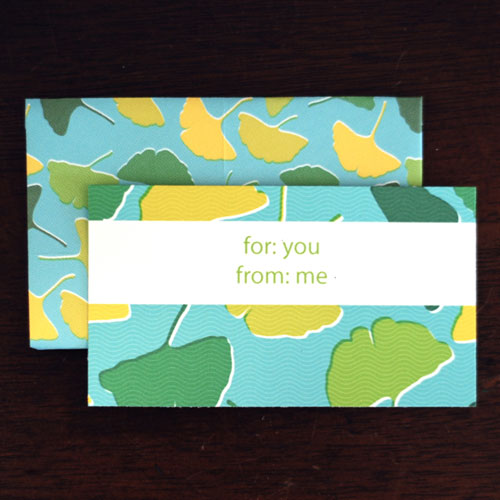 Gingko Envelope