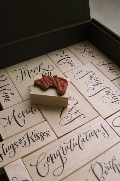 Crystal Kluge Rubber Stamps