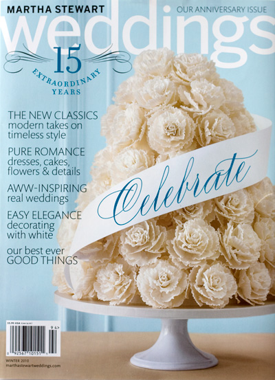 Martha Stewart Weddings 15th Anniversary Issue