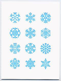 Dear Olive Snowflake Card
