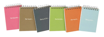 Ecojot 100% Recycled Notepad