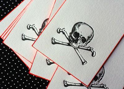 Blood and Bones Letterpress