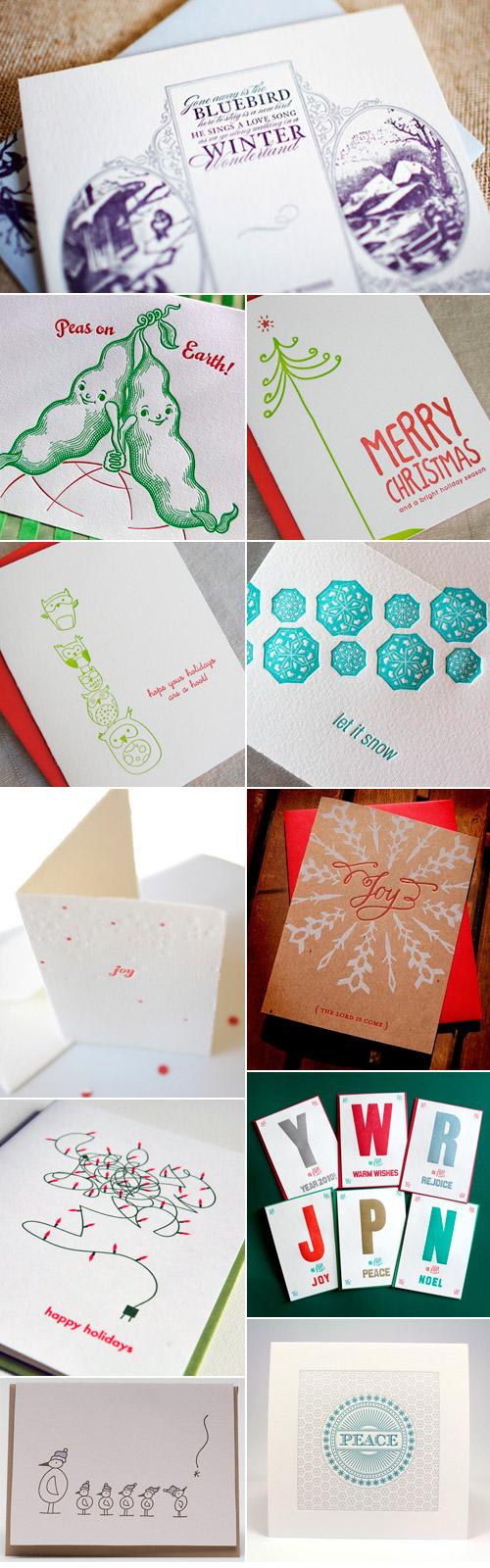 A Letterpress Christmas 2009