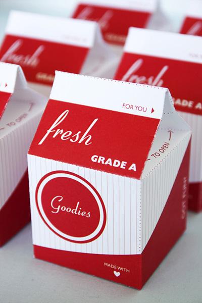 Free Printable Milk Carton