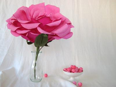 Morgan Levine Crepe Paper Flowers
