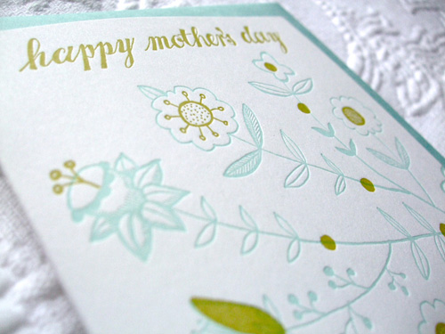 Sycamore Street Letterpress Mother's Day Cards