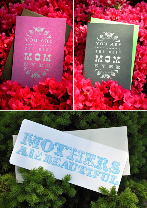 Louella Press Letterpress Mother's Day Cards