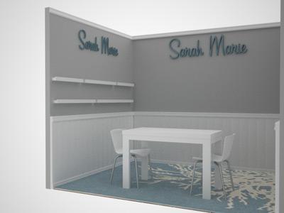 Sarah Marie Booth 3D Rendering