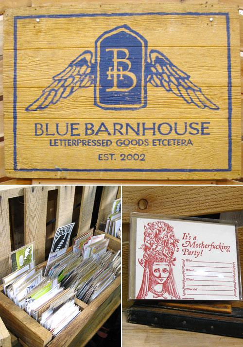 Blue Barnhouse