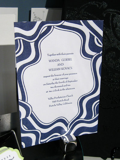 Flywheel Press Letterpress Wedding Invitations