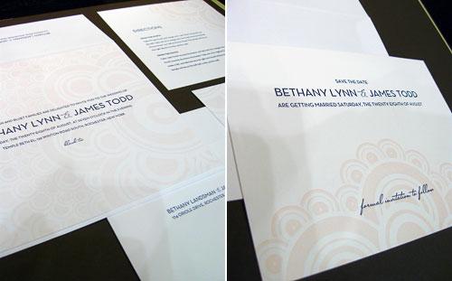 Gilah Press Letterpress Wedding Invitations