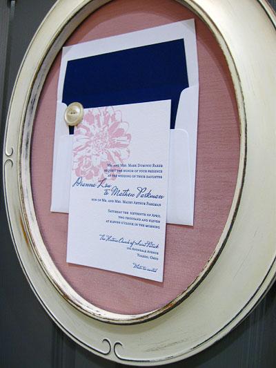 Gwyneth Paige Letterpress Wedding Invitations