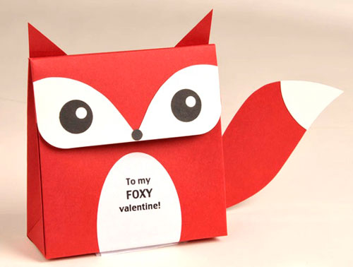 Fox Valentine Favor Craft