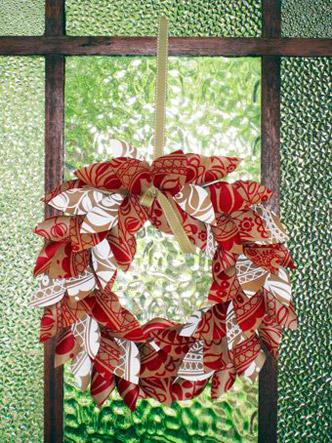 Paper LeafWreath