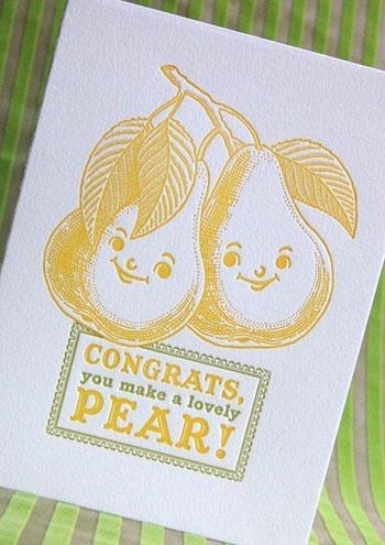 Pup & Pony Letterpress Cards