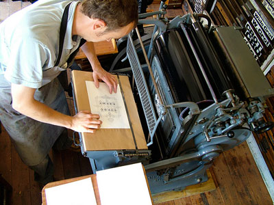 Typoretum Typography Print