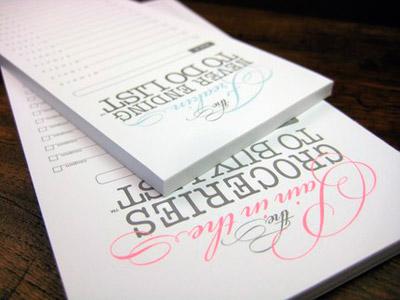 Vale Design Notepads