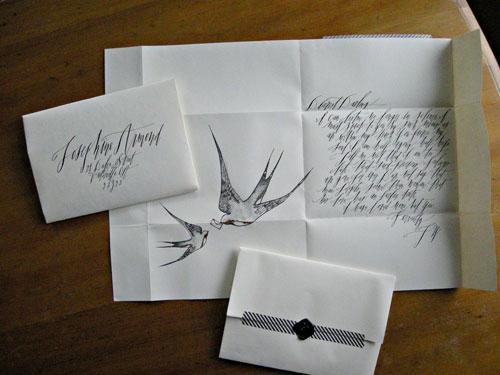 Hello Handmade Handwritten Valentine